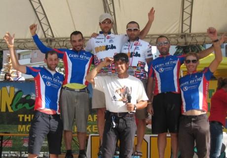 Filip Kuźniak & Szymon Zacharski / 1 miejsce drużynowo IRON BIKE – rok 2011