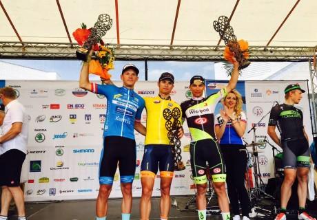 Paweł Cieślik / 3 miejsce klasyfikacja generalna Tour de Slovaquie – 2015 rok.