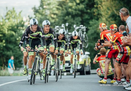 Paweł Cieślik / 5 miejsce klasyfikacja generalna Czech Cycling Tour – 2015 rok.