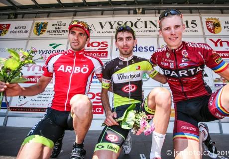 Tomas Kalojiros / 1 miejsce 4 etap VYSOCINE Tour – 2015 rok.