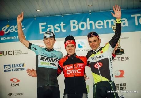 Paweł Cieślik / 3 miejsce drugi etap East Bohemia Tour – 2015 rok.