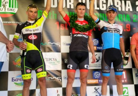 Paweł Cieślik / 2 position third stage Tour of Bulgaria – 2015 year.