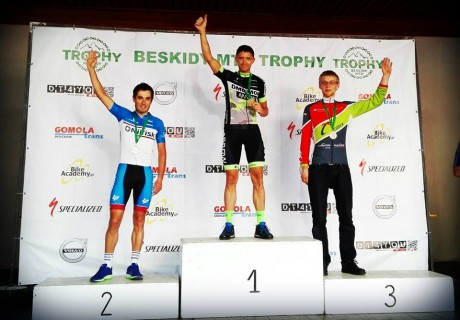 Michał Neumann – 1 position M2 / 3 OPEN stage IV MTB TROPHY – 2016 year.