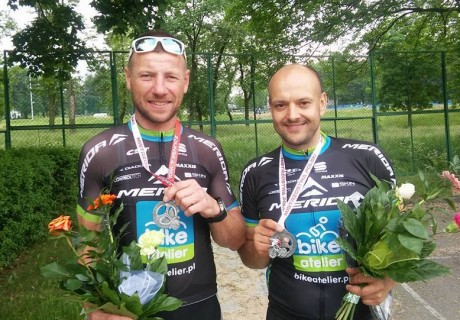 Artur Boratyn / runner-up Polish Masters in pairs, time trial – 2016 year.