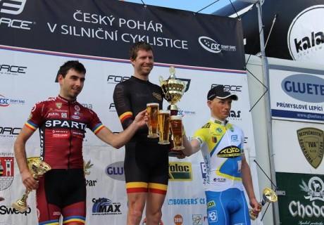 Tomas Kalojiros / 2 miejsce OPEN | 1 U23 ČESKÝ POHÁR V SILNIČNÍ CYKLISTICE 2016 45.ročník MEZINÁRODNÍ TROFEJ ROKYCAN – 2016 rok.