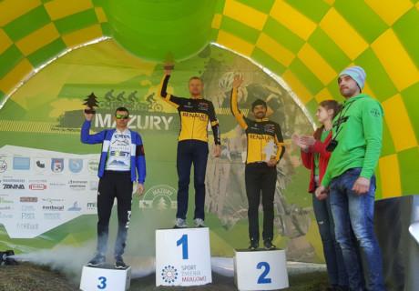 Grzegorz Maleszka – 2 lugar M4 / 2 lugar OPEN Mazury MTB Mrągowo – el año 2017.