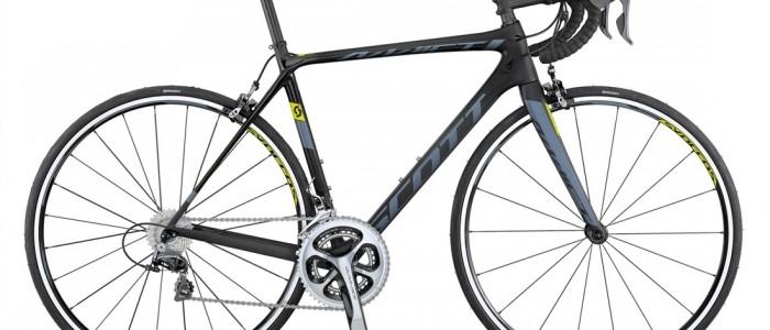 Scott Addict 10 full Dura Ace + Carbon Wheels