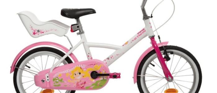 "B'Twin 900 Spy Hero Girl Bike – 16"""