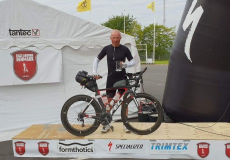 Paul Albaeck / 2 place Race Around Denmark Extreme Unsupported, 1600km