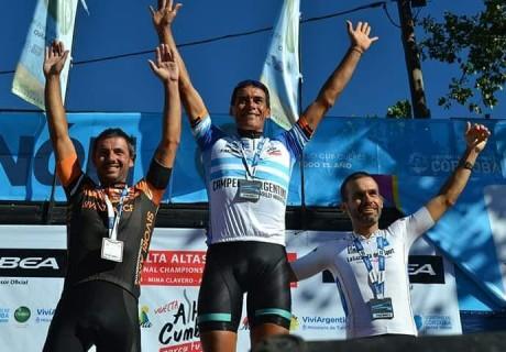 Jorge Ramiro Ramallo / 3-th place M40 / Vuelta Altas Cumbres (XCM campeonato Argentina)