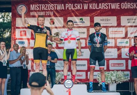 Grzegorz Maleszka Vice-Mistrzostwo Polski XC Masters I Mrągowo 2018