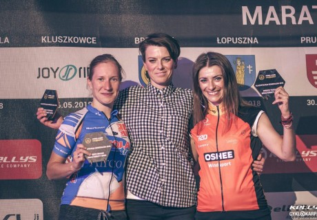 Joanna Dychtoń – 1 miejsce OPEN kobiety dystans MEGA klasyfikacja generalna Cyklokarpaty 2018