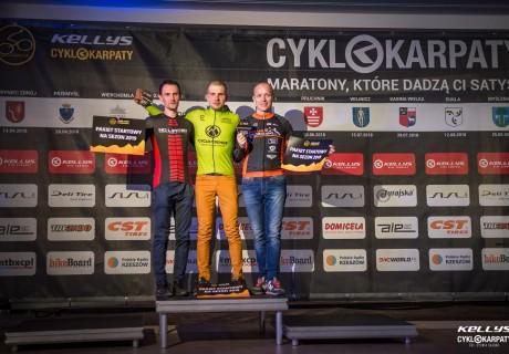 Piotr Sajdak – 1 miejsce OPEN dystans MEGA klasyfikacja generalna Cyklokarpaty 2018
